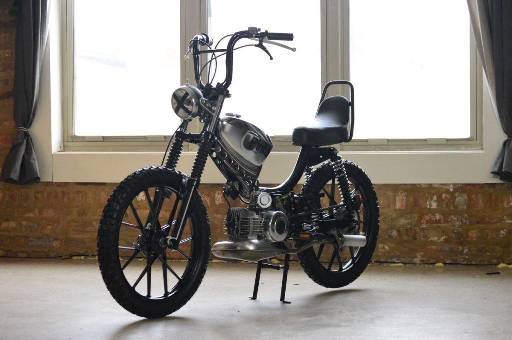 Vintage Puch Pinto moped