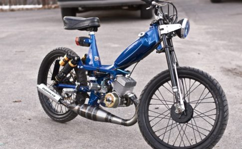 Motobecane 50V Moped Rich Vintage Moped Builds