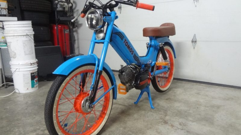 MOPED OF THE DAY | 1977 Tomos A3