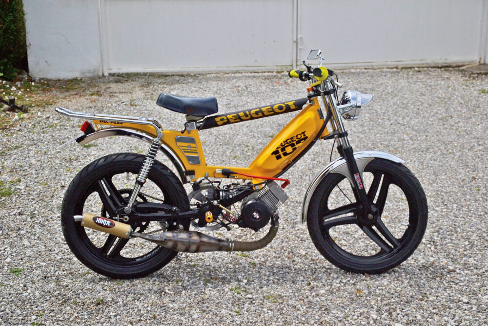Moped Of The Day 1987 Peugeot 103 Sp