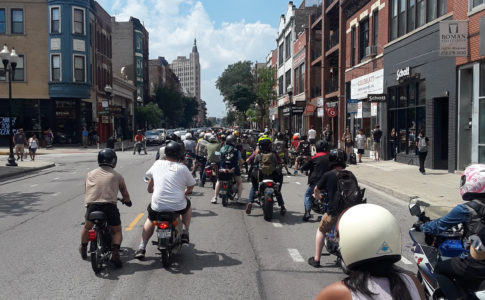 Chicago Moped Rally