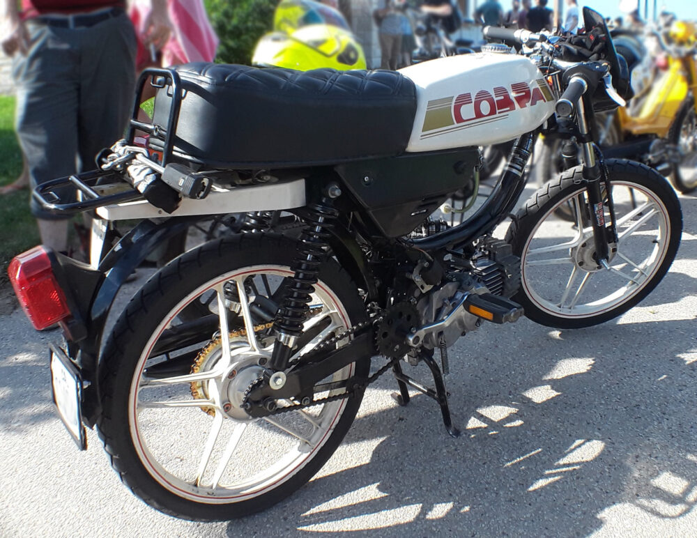 MOPED OF THE DAY | Puch Cobra Cafe Racer