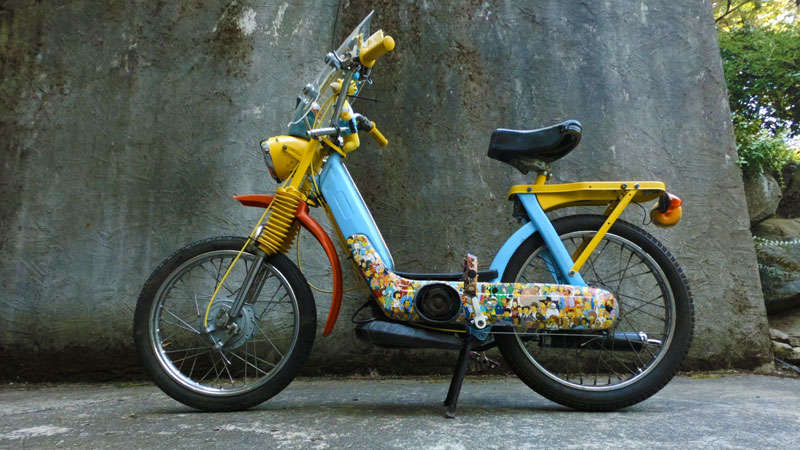 VINTAGE MOPED OF THE DAY | Simpsons Vespa Ciao