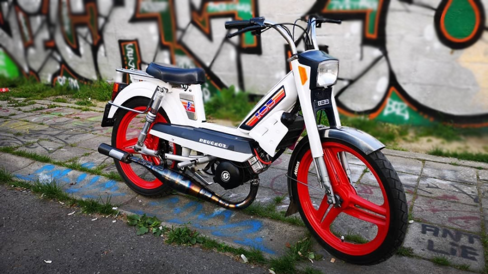 Peugeot 103 Moped Of The Day Vintage Mopeds